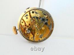 1/4 repeater chronograp High grade pocket watch movement funktion working (Z557)
