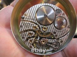 16s South Bend Studebaker 21J OF pocket watch movement