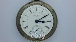 1898 Elgin 18s BW Raymond Railroad Grade Pocket Watch. 17j. Swing out movement