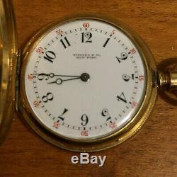18k Tiffany & Co. New York Gold Pocket Watch Patek Movement No 89346