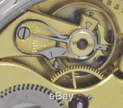 1902 IWC International Watch Co Schaffhausen pocket watch 16 j movement Cal53H7