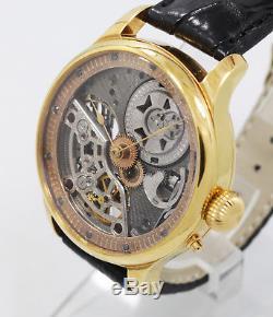 1905 Vacheron Constantin 19 jewels high grade pocket watch movement Skeleton
