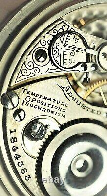 1906 16s Illinois Sangamo 21j, Mod 4, Running, Hunter Movement Pocket Watch