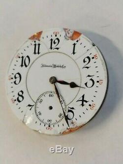 1907 Illinois Pocket Watch Sangamo 21 jewels 16S Movement with good balance