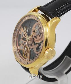1907 Vacheron Constantin 21 jewels high grade pocket watch movement Skeleton