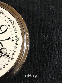 1941 16s HAMILTON 4992B 21J Pocket Watch 12h Dial 24h Movement SERVICED 2018
