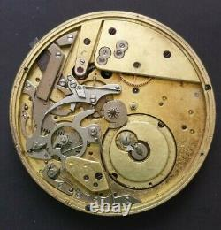 19th Patek Philippe pocket watch movement repeater