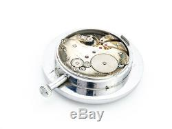 2 LONGINES sideral time pocket watch chronometer with 8 days movement, 1920s