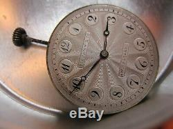 22.9mm Tiffany & Co Agassiz high grade pocket watch or wristwatch movement