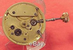 39mm A Lange 7864 First Quality Tiffany & Co New York Pocket Watch Movement
