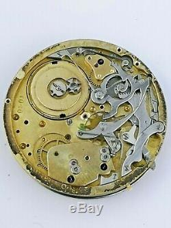 A High Quality Swiss Lever Repeater Pocket Watch Movement for Repair (E69)