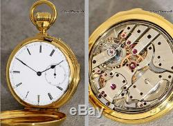 A Valuable Early 18k Gold Minute Repeater With High Quality Movement