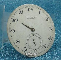ANTIQUE ULYSSE NARDIN POCKET WATCH MOVEMENT ONLY from 1940
