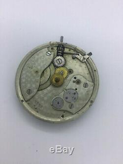ASSMANN GLASHUTTE DRESDEN (LANGE) pocket watch movement working