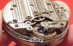AUTOMATION CAM Slide 1/4 Repeater Huguenin HighGrade Movement 43MM Pocket Watch