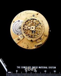 Agassiz Founding Partner Raiguel became Longines Verge Fusee Watch Movement