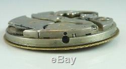 Agassiz Pocket Watch Movement Grade 15 Jewel Spare Parts / Repair