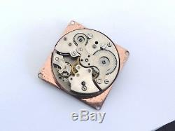 Angelus Sf 240 Manual Wind Alarm Swiss Movement And Parts