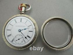 Antique 1889 Rockford Private Label LS/PS Switch 18 Size Movement Pocket Watch