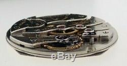 Antique Dietrich Gruen Wind Pocket Watch Movement Rare High Grade Swiss