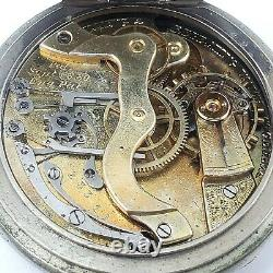 Antique Geneva Timing and Repeating Watch Co. Pocket Watch Serial No. 23311 1880s