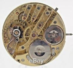 Antique H6 IWC International Co. Watch Wind Pocket Watch Movement High Grade