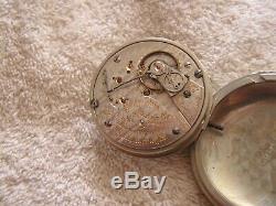 Antique Hamilton 21 Jewels Swing Movement Pocket Watch Beautiful 940 Size 18