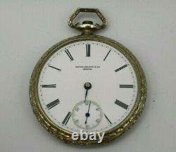 Antique Patek Philippe & Co for C. S. Ball Pocket Watch Circa 1889