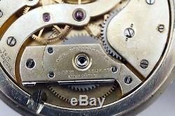 Antique Patek Philippe Pocket Watch (movement Only) 18j 45.5mm Works B205