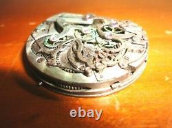 Antique Pocket Watch Movement Chronograph