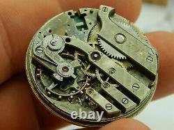 Antique Pocket watch movement parts Meylan Private Label 1890s 39mm high grade
