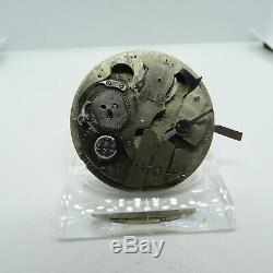 Antique Pre-Manufacture LeCoultre Swiss Minute Repeater Pocket Watch Movement #3