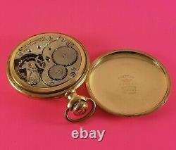 Antique REGINA Omega Pocket Watch 17 Jewels 16 Size H. Massonat N. W. T. Movement
