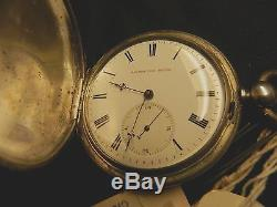 Antique Thomas Fredrick Cooper London Ebauche Keywind Bar Movement Pocket Watch