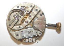 Antique Tiffany & Co Patek Philippe Pocket Watch 42mm Movement for restoration