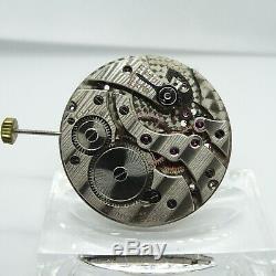 Antique Ulysse Nardin 17J Wind Pocket Watch Movement Font 41 Pre Manufacture #