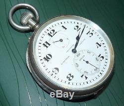 Antique Ulysse Nardin Chronometre Power Reserve (not Working) Pocket Watch