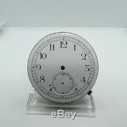 Antique Unsigned Swiss Made Manual Wind Quarter Repeater Pocket Watch Movement #