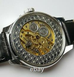 Asymmetrical Antique 1910's Vintage Wristwatch with Le Coultre pocket movement