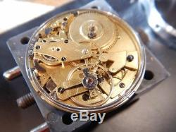 Aubert Freres (fils) Quarter repeater 1820-1830 antique pocket watch movement
