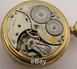 Ball 16s Official Standard Railroad Railway 19 jewels 5 Adj. Pocket Watch OF
