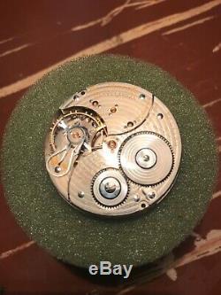 Ball/Hamilton 999P, Railroad Standard, 21J, pocket watch movement