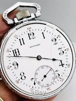Beautiful Movement 1910 E Howard Series 4 16S 17J Pocket Watch Great Runner