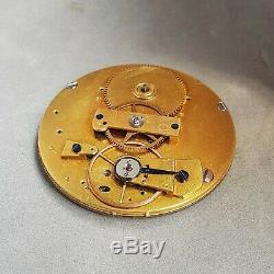 Breguet Extra thin 1820-30s unusual antique pocket watch movement