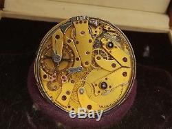 Breguet etablissement mixte 47mm Quarter repeater y1853 pocket watch movement