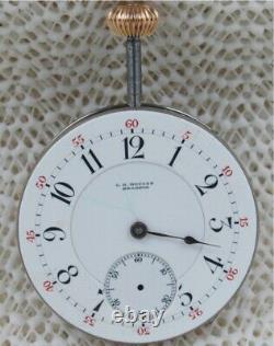C. H. Meylan Brassus Minute Repeater Swiss High Grade Movement, 39.3 Mm. Rare