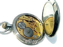 C1920s Revue post war pocket watch. Stunning movement in working order