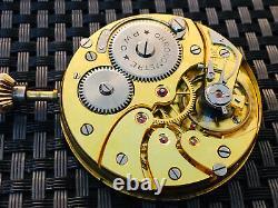 Chronometer Super High Grade Swiss Made Pocket Watch Movement Superb