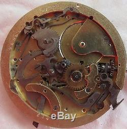 Chronometre Fulgor Repeater & Chronograph Pocket Watch movement & enamel dial