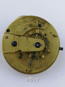 Circa 1810-20 Fusee Pocket Chronometer Watch Movement by Hatton, London (AP15)